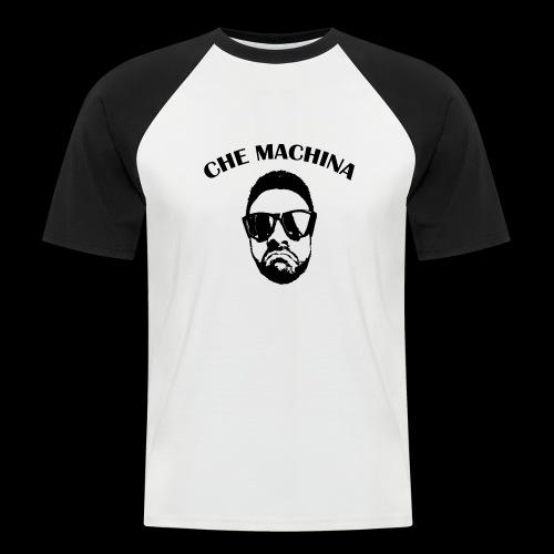 CHE MACHINA - Maglia da baseball a manica corta da uomo