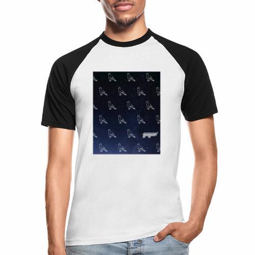 pigeonarmay in space - Männer Baseball-T-Shirt