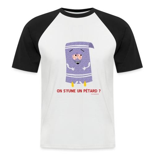 Servietsky 3 - T-shirt baseball manches courtes Homme