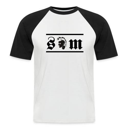 sm mahoawk - Men's Baseball T-Shirt