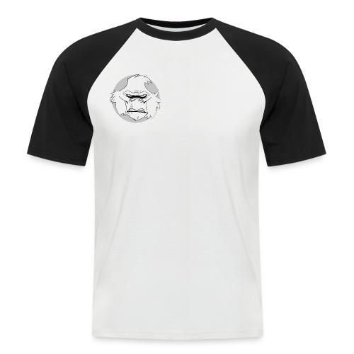 space monkey kopf copy - Männer Baseball-T-Shirt