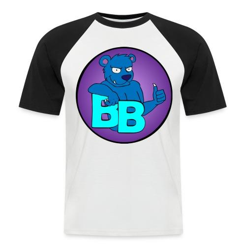 BouncyBear - Kortærmet herre-baseballshirt