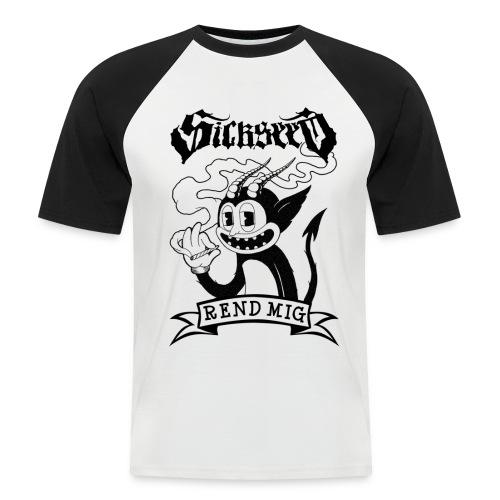 REND MIG - Kortærmet herre-baseballshirt