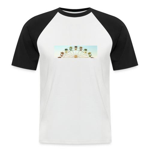 header_image_cream - Men's Baseball T-Shirt