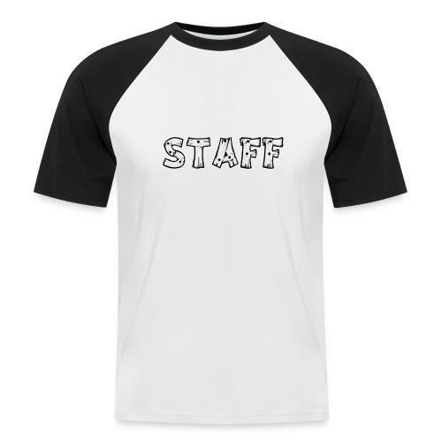 STAFF - Maglia da baseball a manica corta da uomo