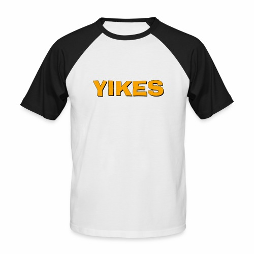 yikes - Men's Baseball T-Shirt