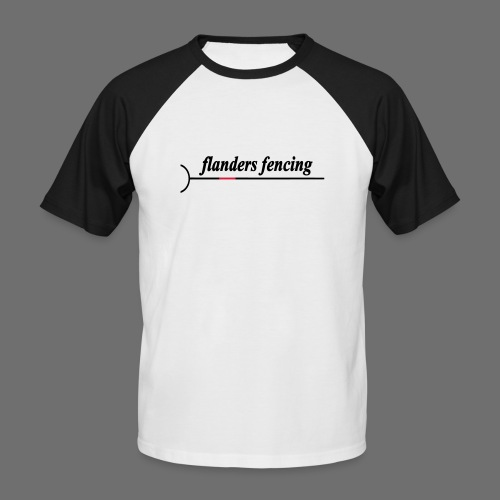 Flanders Fencing - Mannen baseballshirt korte mouw