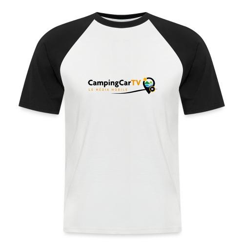 LOGO CCTV - T-shirt baseball manches courtes Homme