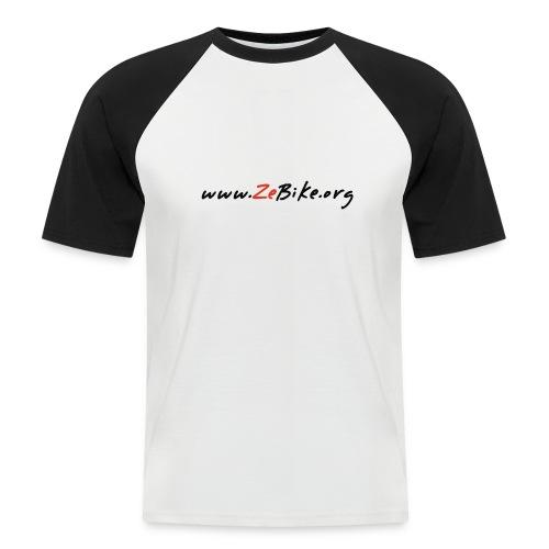 wwwzebikeorg s - T-shirt baseball manches courtes Homme