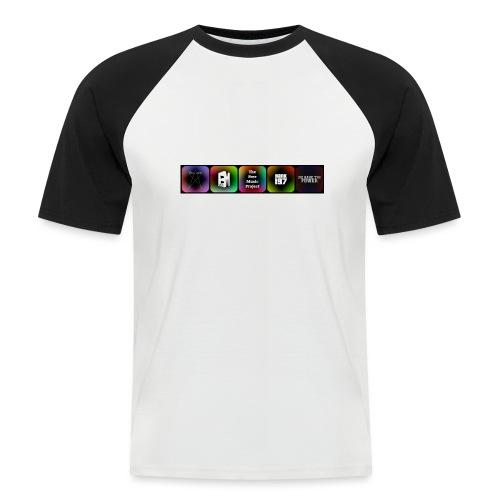 5 Logos - Men's Baseball T-Shirt