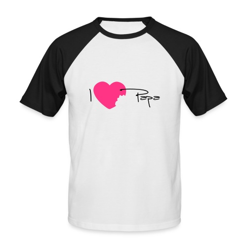 I love Papa 13 Vecto - T-shirt baseball manches courtes Homme