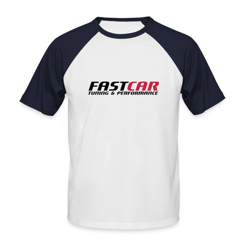 fastcar-eps - Kortärmad basebolltröja herr