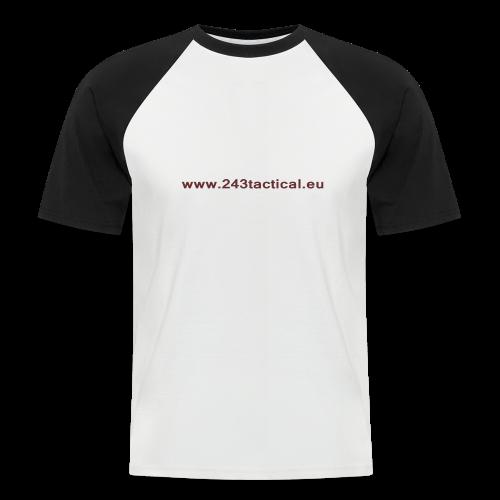 .243 Tactical Website - Mannen baseballshirt korte mouw