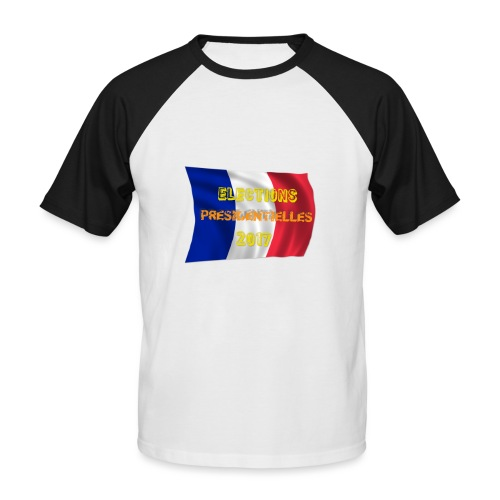 ELECTIONS 2017 - T-shirt baseball manches courtes Homme