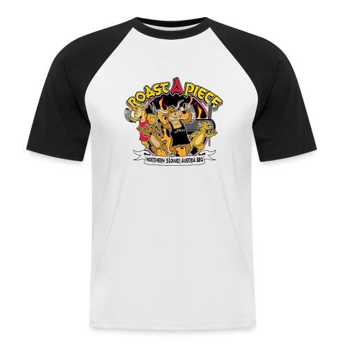 Roast a Piece Streetwear - Männer Baseball-T-Shirt
