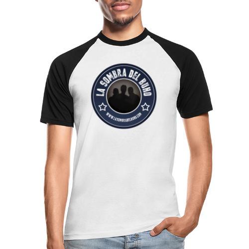 Logo/sombra - Camiseta béisbol manga corta hombre