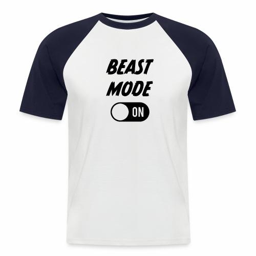 Ruokatauon Beast Mode - Miesten lyhythihainen baseballpaita