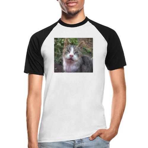 Katze Max - Männer Baseball-T-Shirt