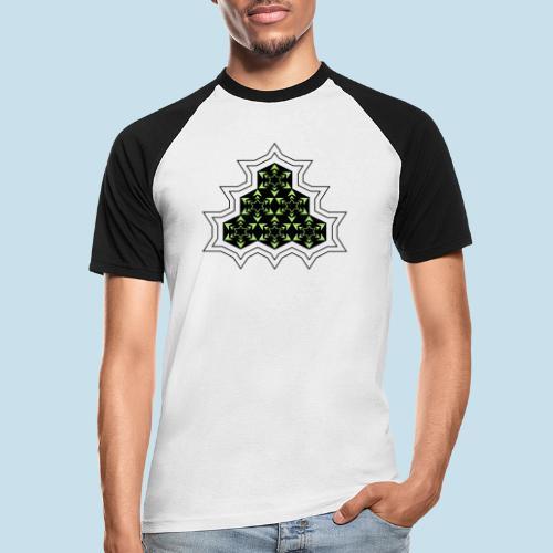 Stern - Männer Baseball-T-Shirt