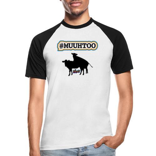 Muuhtoo - Kortærmet herre-baseballshirt