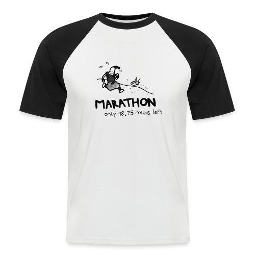 marathon-png - Koszulka bejsbolowa męska
