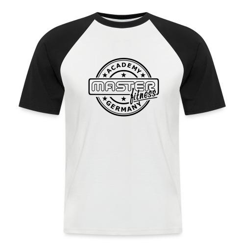 Logo masterfitness academy - Männer Baseball-T-Shirt