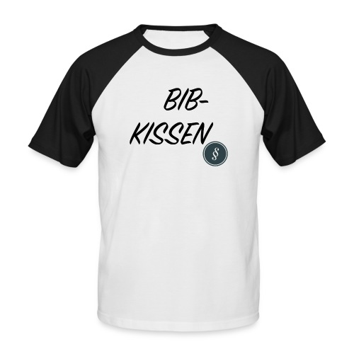 BIB-KISSEN - Männer Baseball-T-Shirt