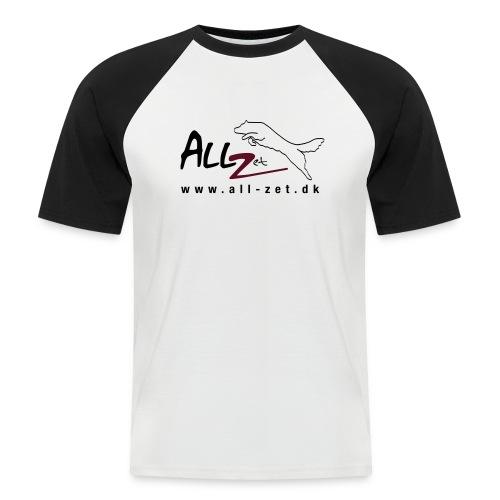 All Zet Logo - Kortærmet herre-baseballshirt