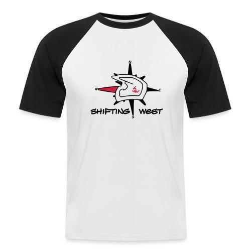 Shifting West Logo vector - Mannen baseballshirt korte mouw
