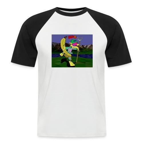 Bruno II - Kortermet baseball skjorte for menn