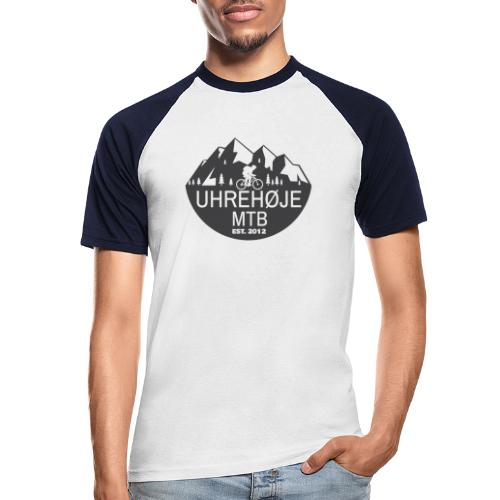UhreHøje MTB - Kortærmet herre-baseballshirt