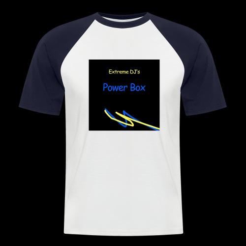 powerbox - Miesten lyhythihainen baseballpaita