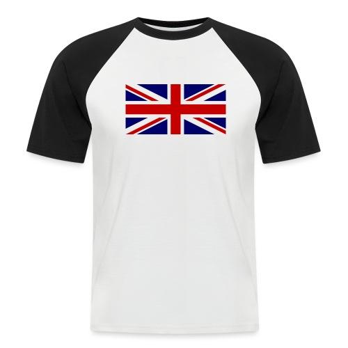 drapeau anglais - T-shirt baseball manches courtes Homme
