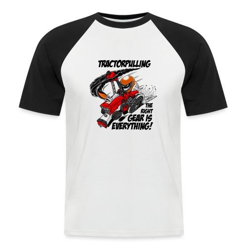 0966 tractorpulling - Mannen baseballshirt korte mouw