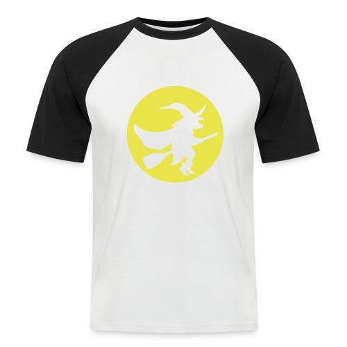 hexe_1farbig - Männer Baseball-T-Shirt