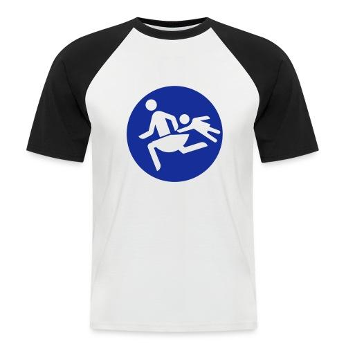 Running Mamas - Männer Baseball-T-Shirt