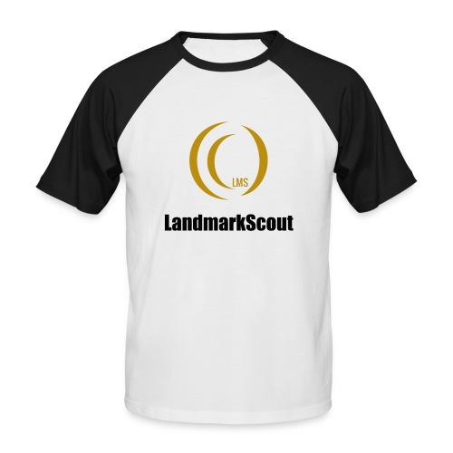 Tshirt Yellow Front logo 2013 png - Men's Baseball T-Shirt