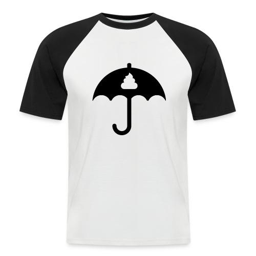 Shit icon Black png - Men's Baseball T-Shirt