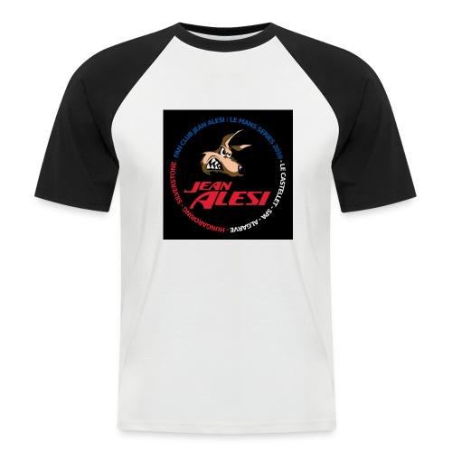 fanclubnoir - T-shirt baseball manches courtes Homme