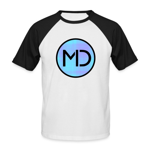 MD Blue Fibre Trans - Men's Baseball T-Shirt