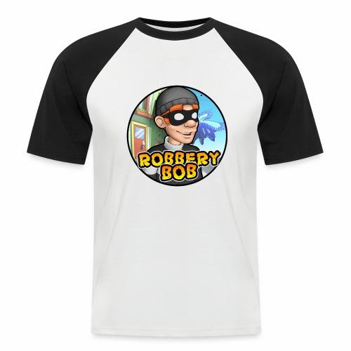Robbery Bob Button - Men's Baseball T-Shirt