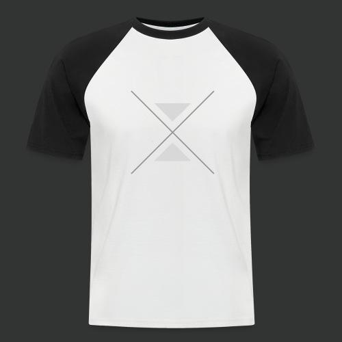 triangles-png - Men's Baseball T-Shirt