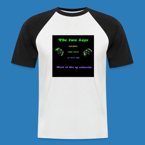 LUISJAKUBINTRO-jpg - Kortærmet herre-baseballshirt