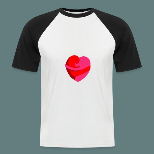 hearts hug - Maglia da baseball a manica corta da uomo