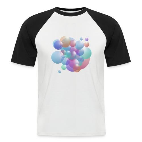 bubble - Männer Baseball-T-Shirt