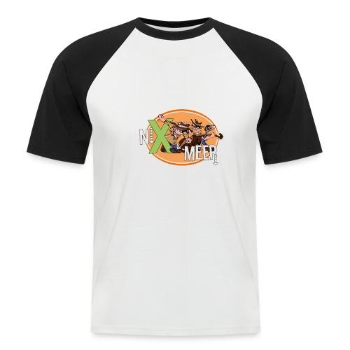 nixenmeer - Mannen baseballshirt korte mouw