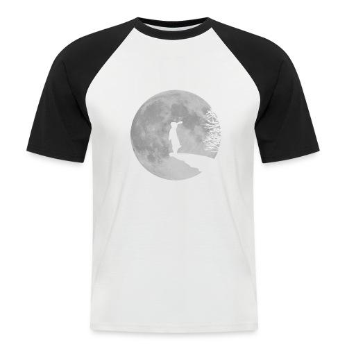 rabbit_wolf-png - Men's Baseball T-Shirt