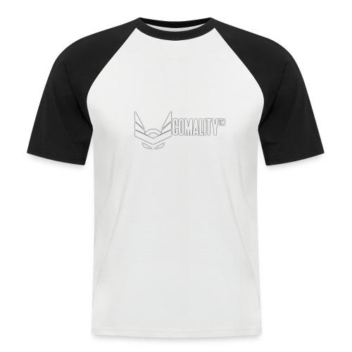 T-SHIRT | Comality - Mannen baseballshirt korte mouw