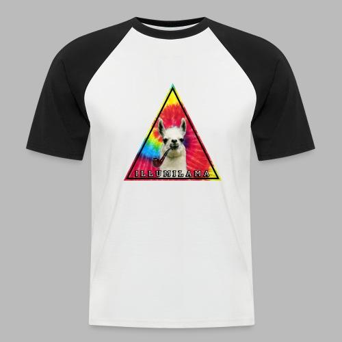 Illumilama logo T-shirt - Men's Baseball T-Shirt
