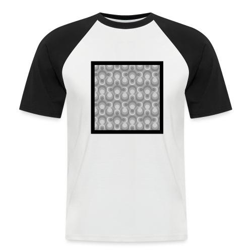 70th telly T-shirt V-Ausschnitt - Männer Baseball-T-Shirt